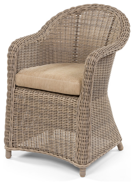Amelie Dining Arm Chair beach-style-dining-chairs