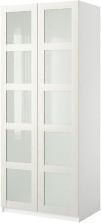PAX Wardrobe with 2 doors modern-armoires-and-wardrobes