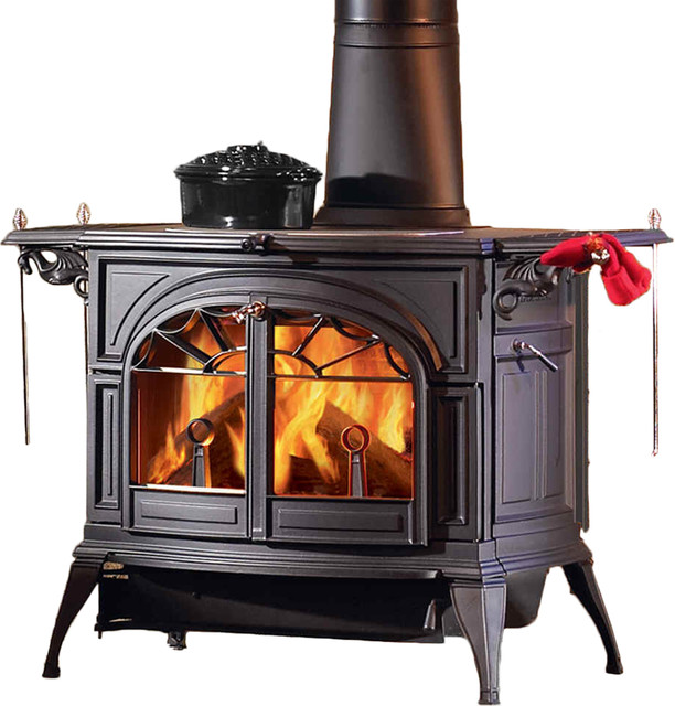 Vermont Castings 1945 Defiant Catalytic Wood Stove - Modern - Fireplaces - by PlumbersStock