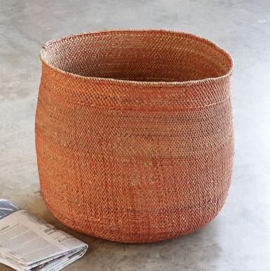 Handwoven Iringa Basket eclectic-baskets