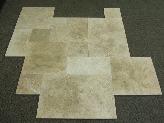 Travertine Tile Mediterranean Wall And Floor Tile By