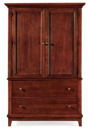 American Drew 181-250C Door Chest- Cherry Sterling Pointe traditional-dressers-chests-and-bedroom-armoires