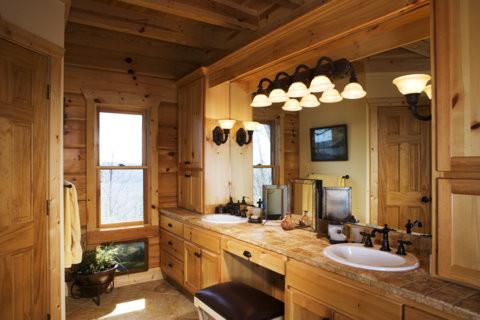 Lake Rabun Lodge - traditional - bathroom - atlanta - by Modern