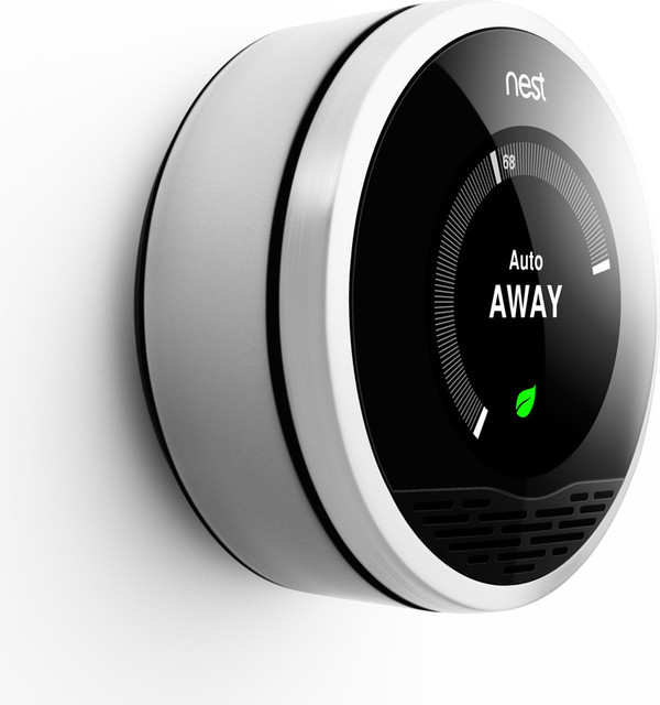 Nest Learning Thermostat  knobs