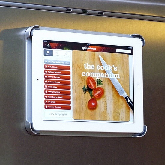 Fridge Pad contemporary-cookbook-stands-and-recipe-holders