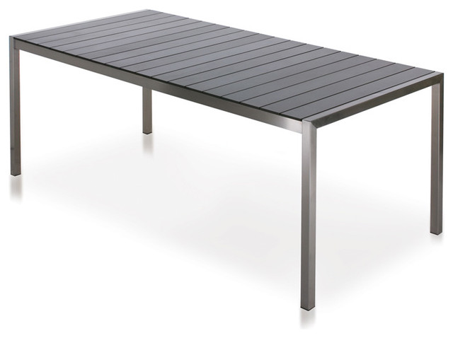 Harbour Outdoor - Soho Laminate Dining Table - Modern - Outdoor Dining Tables - by 2Modern