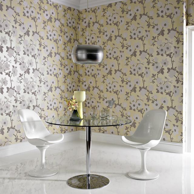 Graham & Brown - Elinor Wallpaper modern-wallpaper