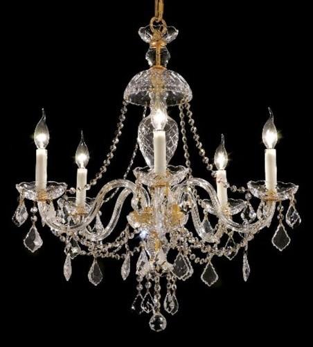 Alexandria 5 Light Chandelier modern-chandeliers