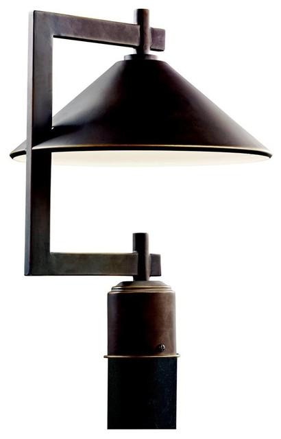 KICHLER Ripley Lodge/Country/Rustic/Garden Outdoor Post Lantern X-ZO36094 contemporary-post-lights