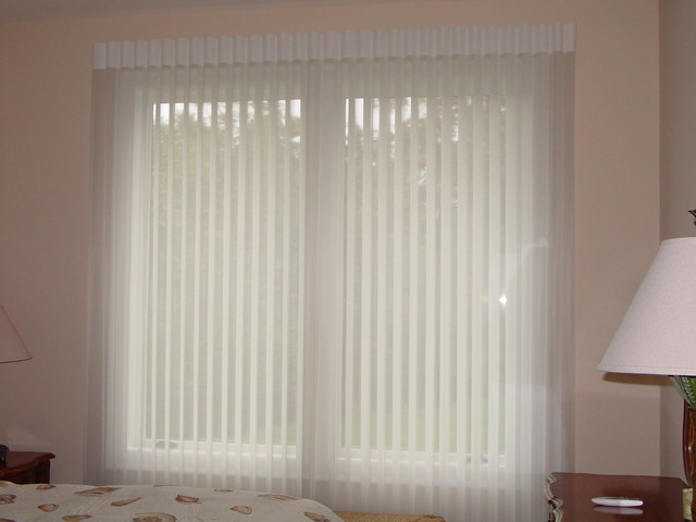 Hunter Douglas Luminette Privacy Sheers - Traditional ...