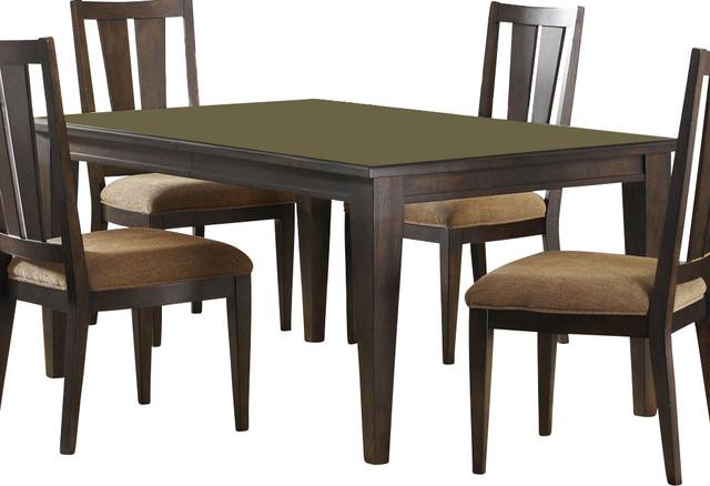 84x42 rectangular dining table in mocha dark wood dining tables