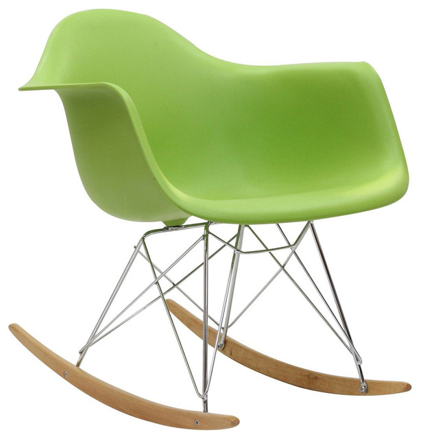 Rocker Rocking Chair in Green contemporary-rocking-chairs