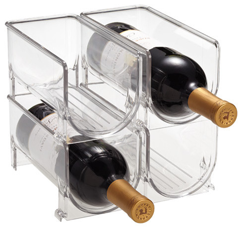 Fridge Binz Wine Holder modern-cabinet-and-drawer-organizers