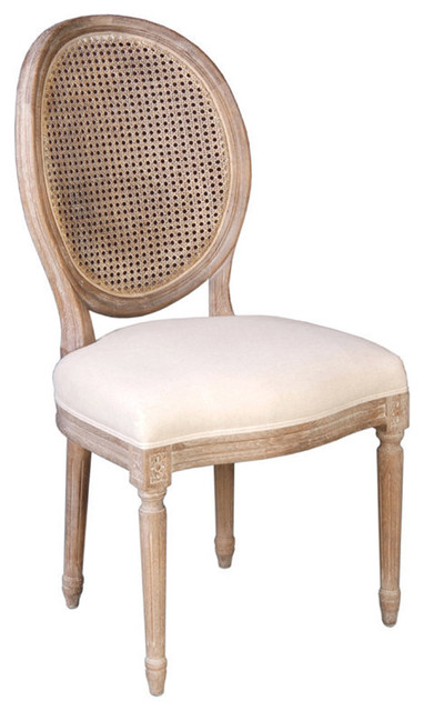Napoleon Reclaimed Oak Cane Back Dining Chair : rustic dining chairs from www.houzz.com size 382 x 640 jpeg 54kB