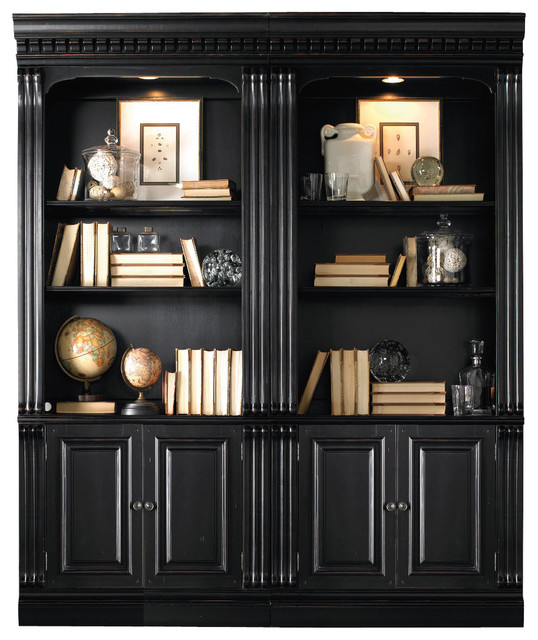 Spanish Revival Furniture ... in Black - Transitional - Bookcases - by Bedroom Furniture Discounts