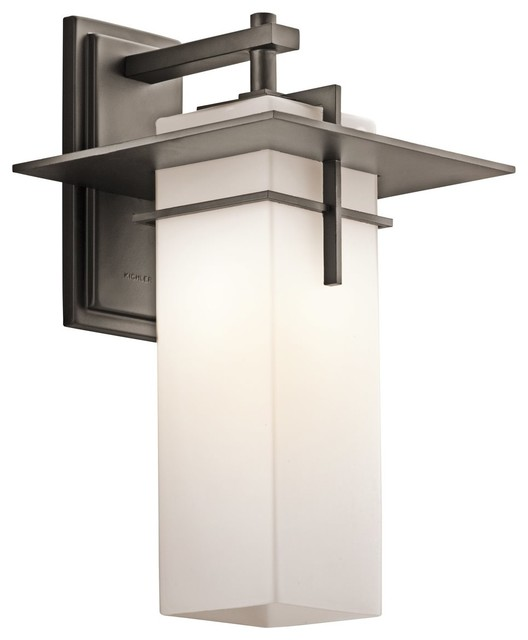 Modern Home Wall Sconces : Kichler Lighting Caterham Modern / Contemporary Outdoor Wall Sconce X-ZO44694 - Contemporary ...