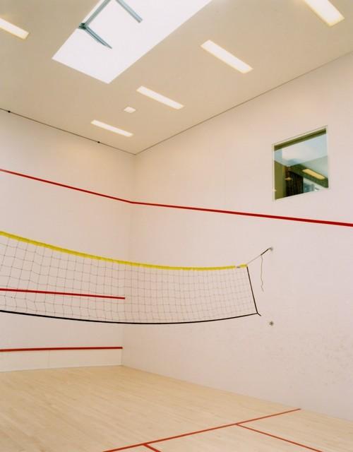 Contemporary Quarters Squash Court contemporary-home-gym