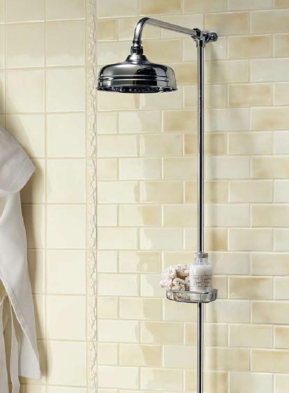 Grazia Melange Wall Tile traditional-tile