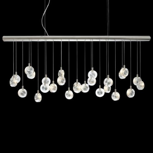 Bling Linear Suspension contemporary pendant lighting