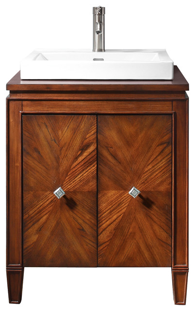 Brentwood 25 in. Vanity Only contemporary-bathroom-vanities-and-sink-consoles