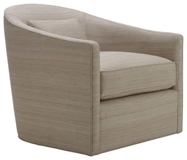 Dima Swivel Chair - Baker Furniture - Armchairs And Accent Chairs ...