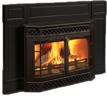 Vermont Castings MERRIEB Wood Insert Fireplace modern-indoor-fireplaces