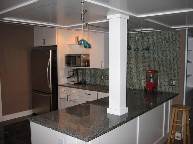 Wet Bar modern-kitchen