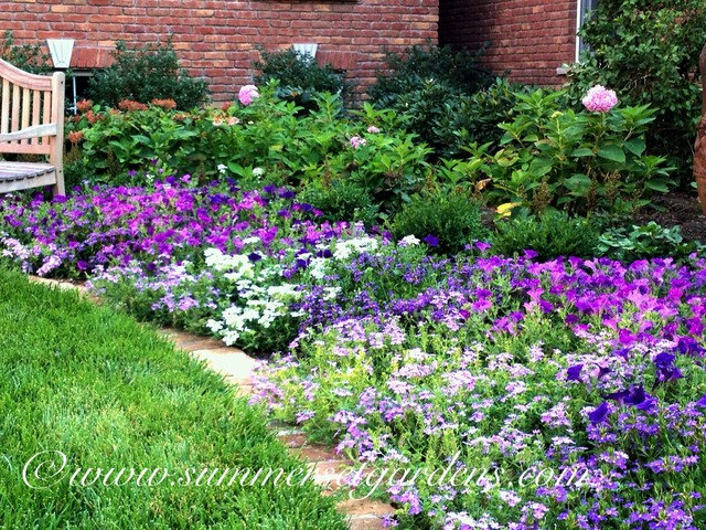 A Front Yard Garden Design Traditional Landscape new