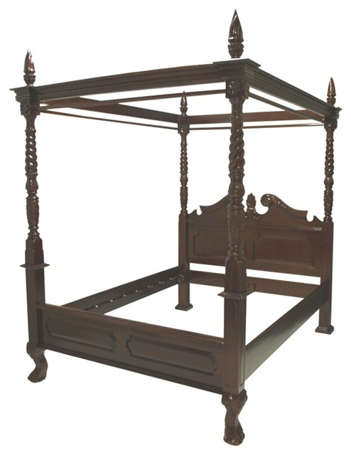 Abele four poster bed for Traditional four poster beds