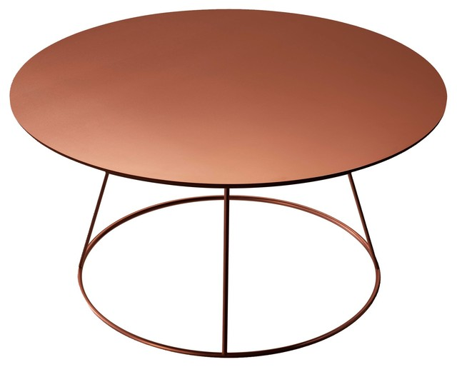 Breeze Table Copper Modern Coffee Tables By Skandium