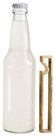Brass Bottle Opener modern-wine-and-bottle-openers