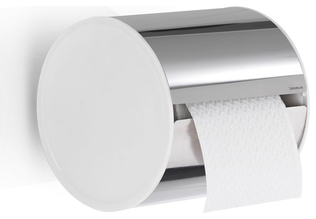 Sento Toilet Paper Holder - Polished contemporary-toilet-accessories