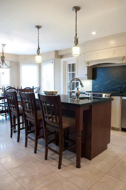 Traditional Soapstone Installation traditional-kitchen-countertops