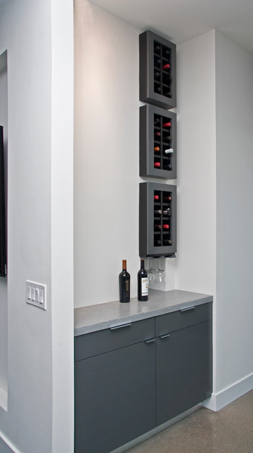 City Scenic Residence contemporary wine cellar
