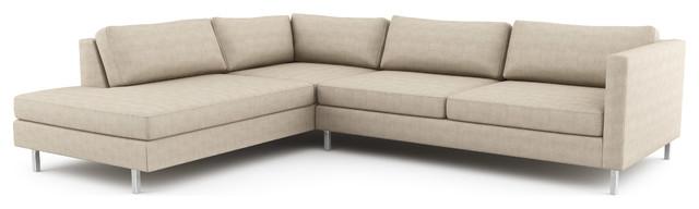 Mota Wedge Open Sectional (Custom) modern-sectional-sofas