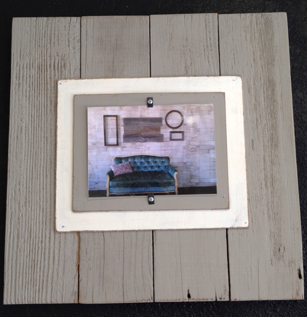 Barnwood Picture Frame traditional-picture-frames