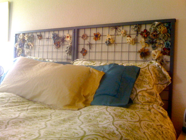 Repurposed Headboard eclectic headboards