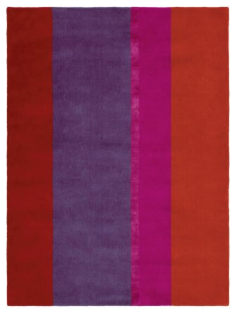 Pink and Purple Stripe Rug modern rugs