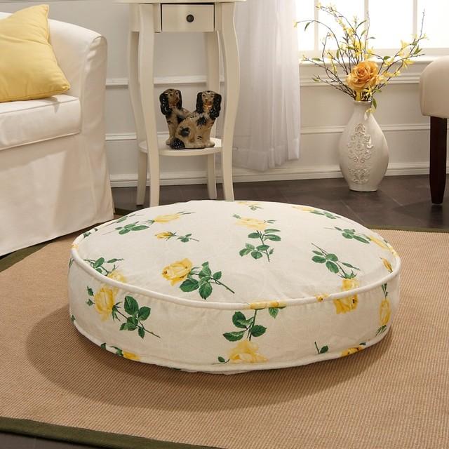 Carleton Varney Hillandale Rose Pet Bed traditional-dog-beds