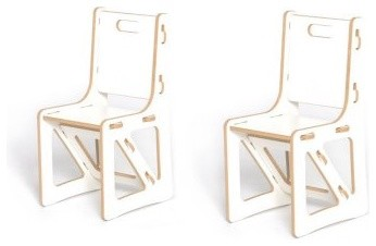 Sprout Childrens Chairs - 2 Pack modern-living-room-chairs