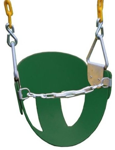 Eastern Jungle Gym High Back Half Bucket Toddler Swing contemporary-baby-swings-and-bouncers