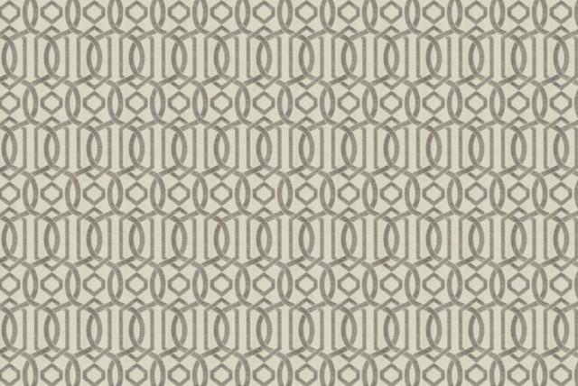 Broken Circles Fabric, Slate modern-fabric