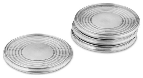 Vintage Silver Coasters - Modern - Coasters - by Williams-Sonoma