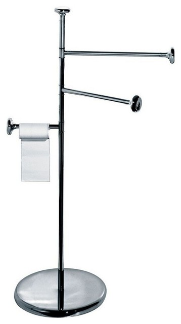Alessi 'Birillo' Towel Stand modern-towel-bars-and-hooks