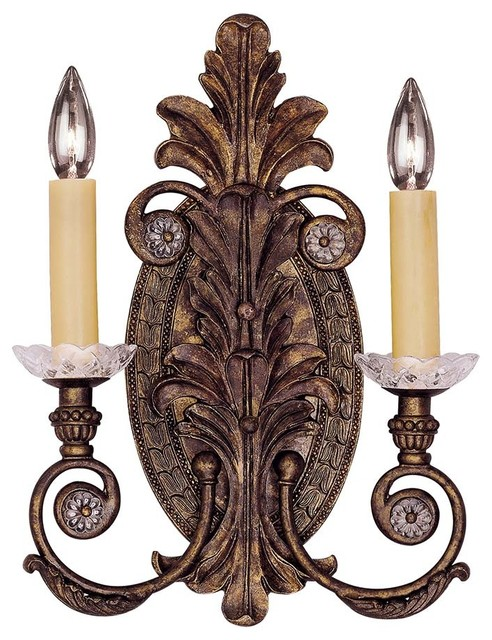 Corsica 2-Light Sconce traditional-wall-sconces