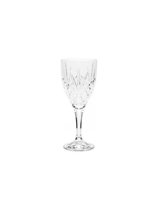 Grandin Road - Set of 12 Dublin Wine Goblets - Traditional glassware inspired by classic Irish cut crystal. Creates a glimmering effect on your holiday (or everyday) table. 24% lead crystal gives glasses heft and durability. Available in four fashionable styles. View care instructions. Set a magnificent table with brilliantly etched Dublin Crystal Glassware. Each highball, goblet, double old-fashioned, and beverage glass is handcrafted using centuries-old techniques – each style is sold separately, in a set of 12.. . . .  . .