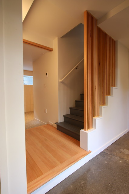 SE Portland addition modern-staircase