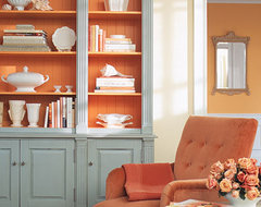 Decorating by Color: Orange Rooms - Martha Stewart -