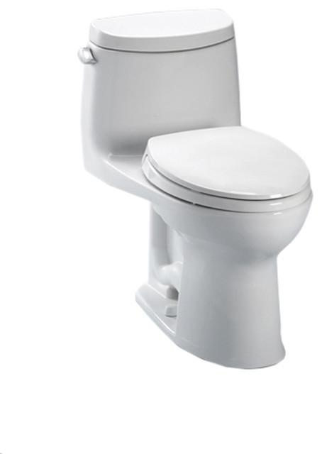 Toto MS604114CEFG#01 Cotton White UltraMax II Toilet. modern-toilets