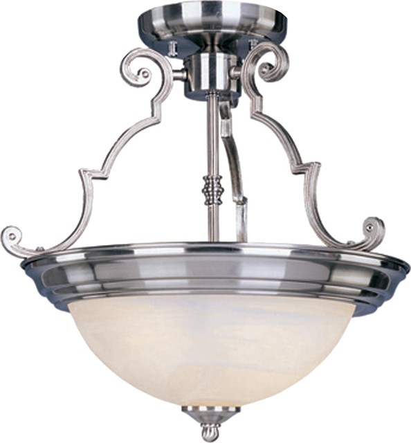 Maxim Lighting MX Traditional Semi Flush Mount Ceiling Light X-NSRM3485 traditional-flush-mount-ceiling-lighting